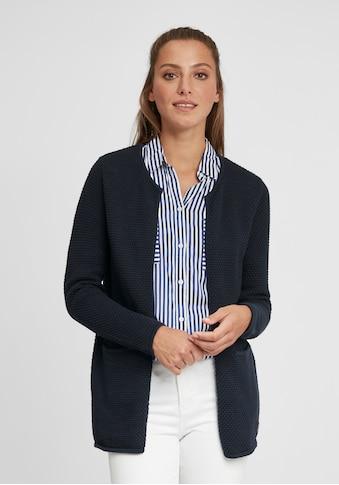OXMO Strickjacke »Hilda«, Strickjacke im Perlstrickmuster kaufen