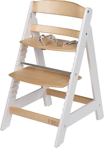 roba® Hochstuhl »Treppenhochstuhl Sit Up III, natur/weiss«, aus Holz kaufen