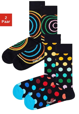 Happy Socks Socken, (2 Paar), in buntem Retro-Design kaufen
