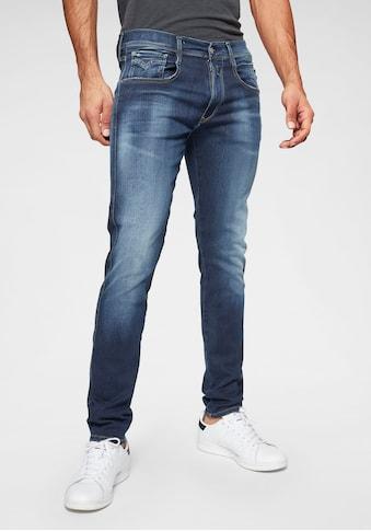 Replay Slim - fit - Jeans »ANBASS HYPERFLEX bio« kaufen