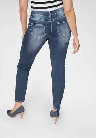 Arizona Slim - fit - Jeans »Heavy Washed  -  Shaping« kaufen