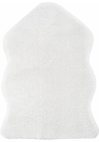 Fellteppich, »Lamm Fellimitat«, Andiamo, fellförmig, Höhe 20 mm, maschinell gewebt kaufen