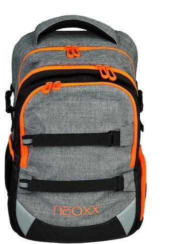 neoxx Schulrucksack »Active, Stay orange«, aus recycelten PET-Flaschen kaufen