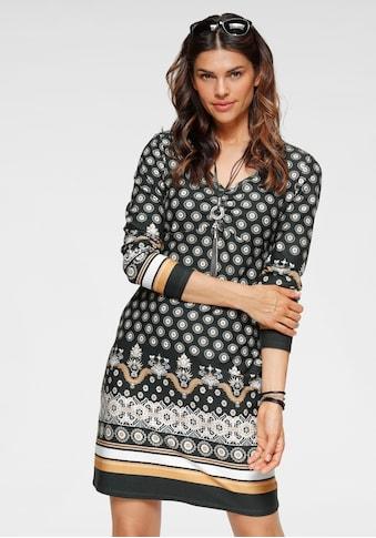 Boysen's Jerseykleid, mit ornamentalem Alloverprint kaufen