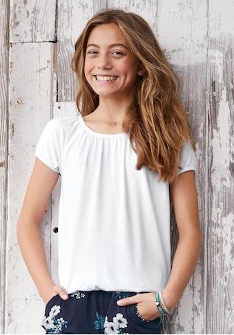 Arizona Carmenshirt, mit elastischen Säumen kaufen