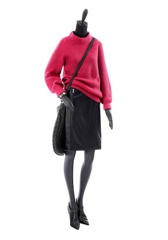 Inspirationen Stehkragen - Pullover in weiter Form kaufen