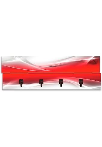 Artland Garderobenpaneel »Kreatives Element Rot für Ihr Art - Design« kaufen