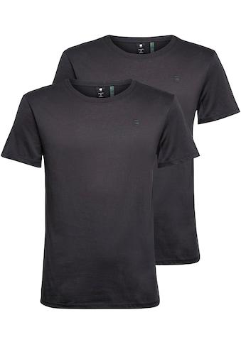 G-Star RAW Rundhalsshirt »Base htr r t s/s 2« kaufen