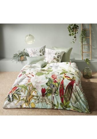 fleuresse Wendebettwäsche »Bed Art S 4194 (2/3tlg.)«, Mako-Satin, tropische Verführung kaufen