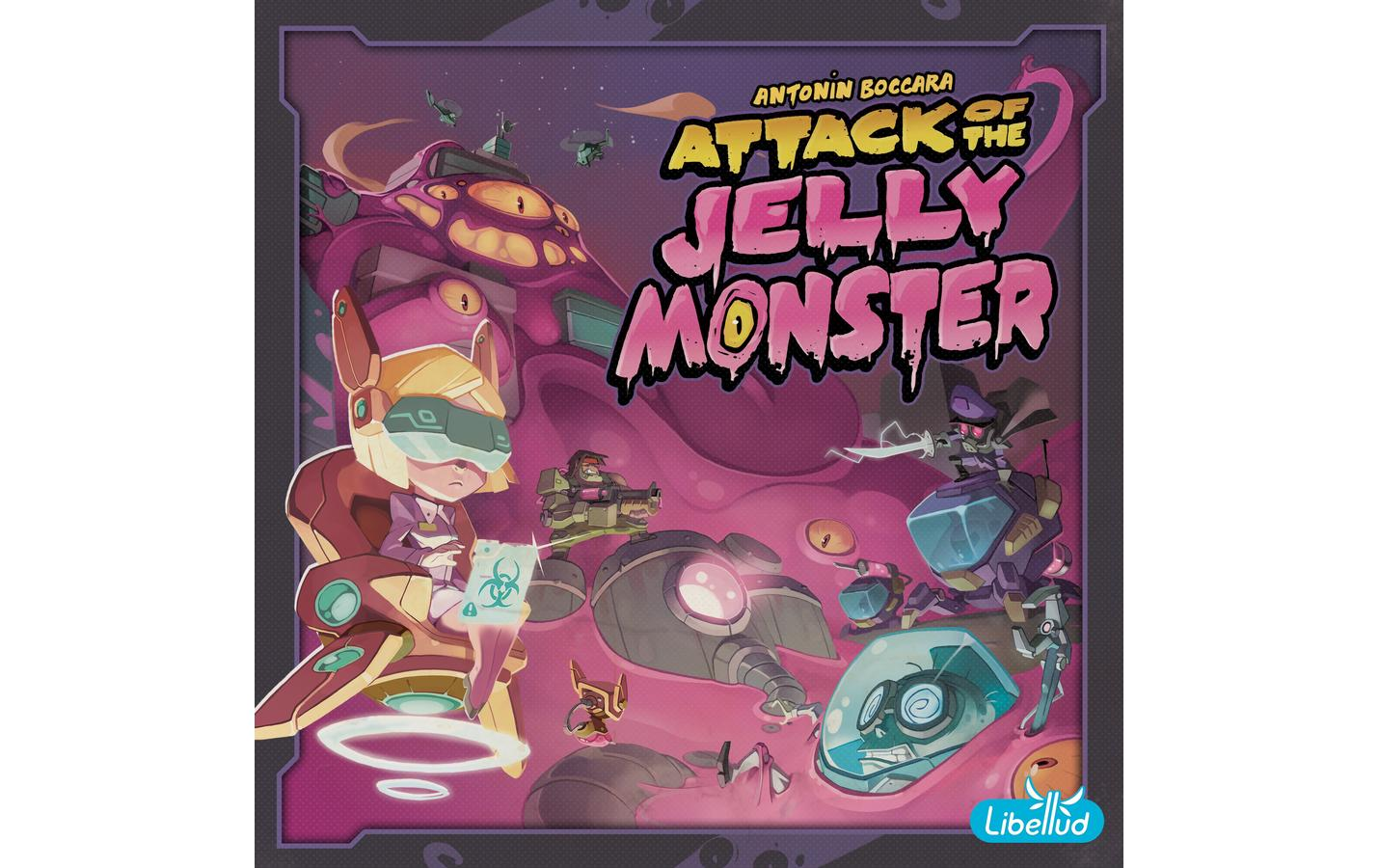 Image of Asmodee Spiel »Attack of the Jelly Monster«
