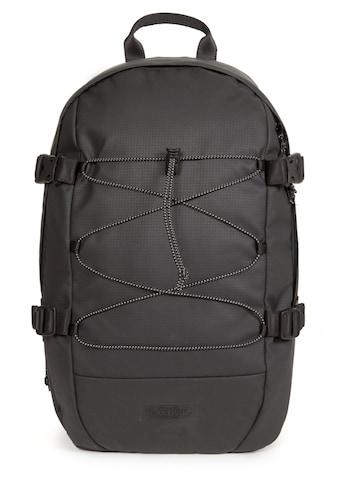 Eastpak Laptoprucksack »BORYS, Surfaced Black«, Mit Bungee-Seil, enthält recyceltes... kaufen