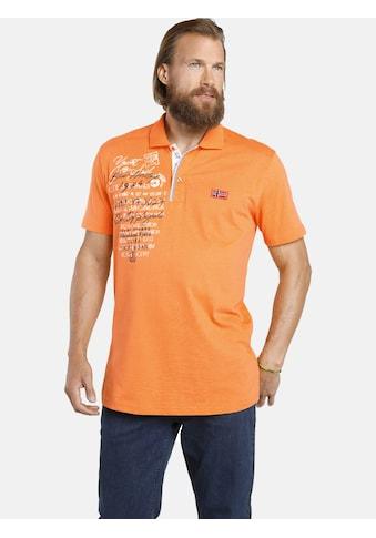 Jan Vanderstorm Poloshirt »JANO«, weiche Jersey-Qualität kaufen