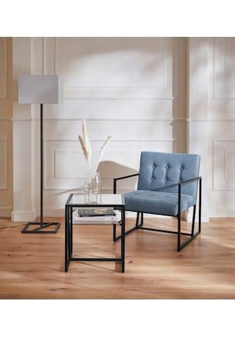 Guido Maria Kretschmer Home&Living Sessel »Silwai«, mit schönem vergoldfarbenetem... kaufen