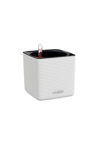 Blumentopf, Lechuza, »Cube Color 14 Weiss« kaufen