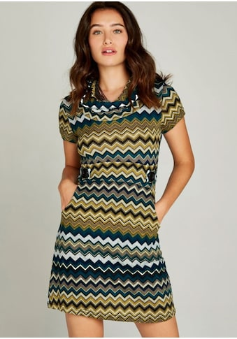 Apricot Strickkleid »Chevron Stripe Epaulette Dress«, mit Epaulette-Detail kaufen
