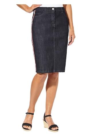 Casual Looks Jeans - Rock mit modischen Galonstreifen: kaufen
