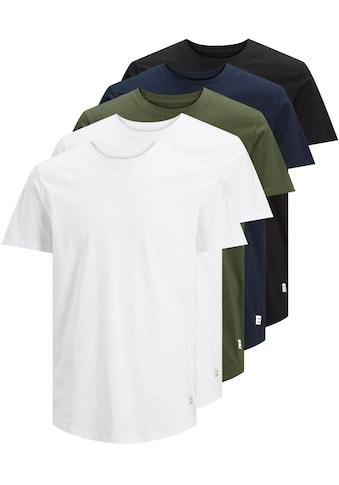 Jack & Jones T-Shirt »NOA TEE CREW NECK 5PK« kaufen