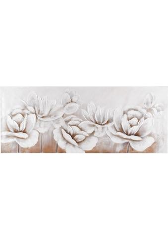 Home affaire Gemälde »Flowers«, 150/60 cm kaufen