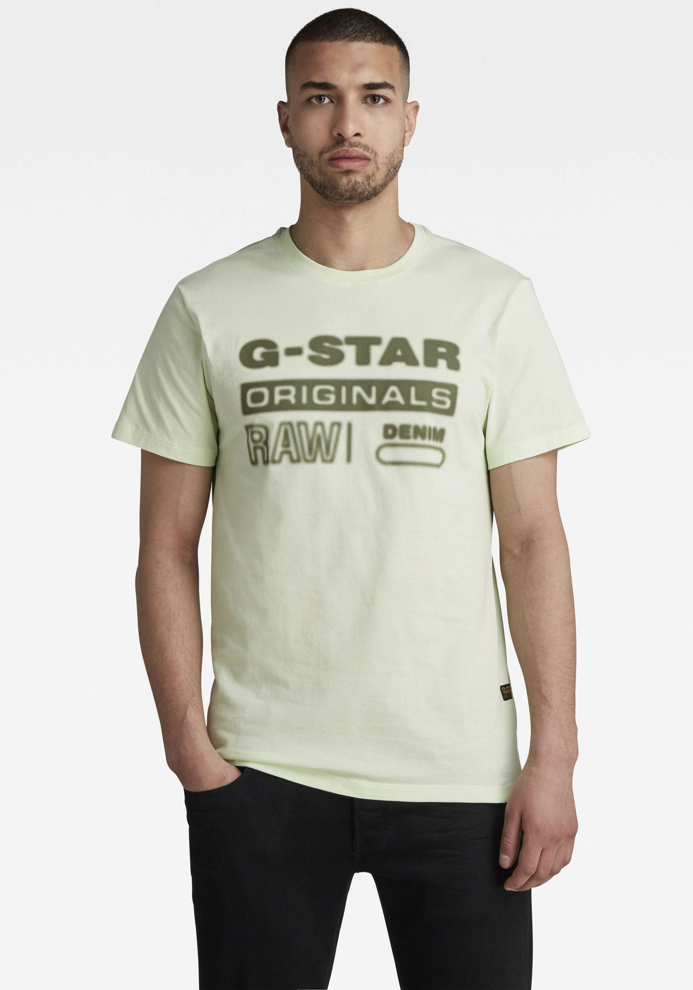 G-Star RAW Rundhalsshirt »Originals hd graphic« kaufen