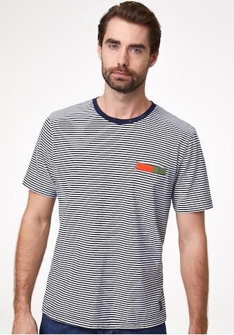 Pierre Cardin T - Shirt mit Streifen kaufen