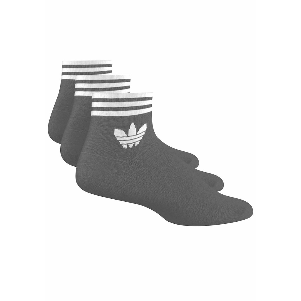 adidas Originals Sneakersocken, (3 Paar), mit Frottee