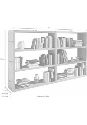 fif möbel Raumteilerregal »Toro«, 6 Fächer, Breite 185 cm kaufen