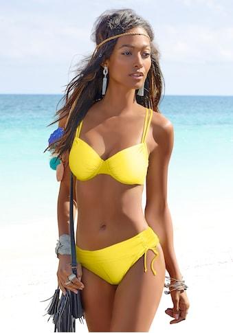 s.Oliver Bikini-Hose »Spain«, mit gedrehtem Bündchen kaufen