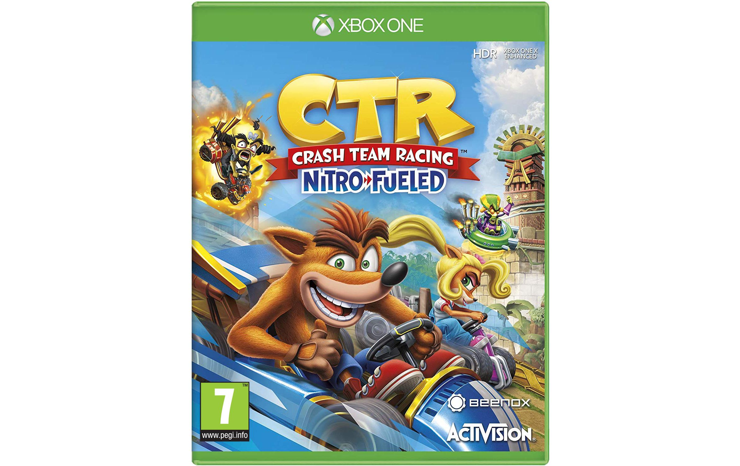 Image of Blizzard Crash Team Racing: Nitro-Fueled, Activision