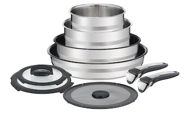 Tefal Kochtopf »Ingenio 9-teilig«, Edelstahl, (9 tlg.) kaufen