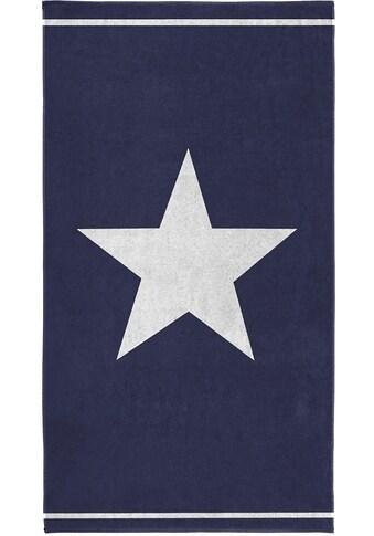 Seahorse Strandtuch »Star«, (1 St.), mit grossem Sternemotiv kaufen
