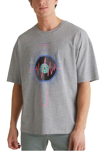 edc by Esprit Print-Shirt, mit grossem Frontprint kaufen