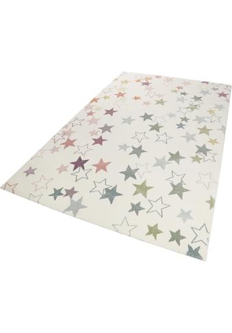 Esprit Kinderteppich »Esterya«, rechteckig, 13 mm Höhe, Sterne Design, Kurzflor kaufen
