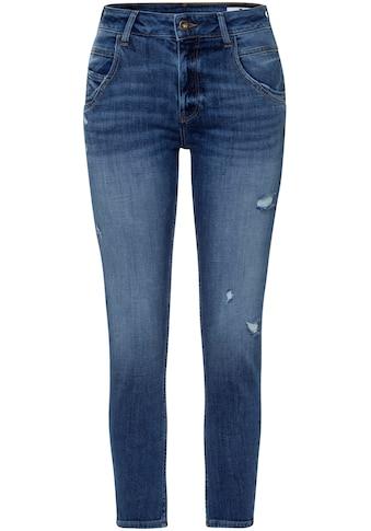 Cross Jeans® High-waist-Jeans »Tanya«, Gerade geschnittenes Bein das zum Saum schmaler wird kaufen