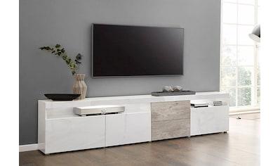 borchardt Möbel Lowboard »Kapstadt«, Breite 200 cm mit 2 Schubkästen kaufen
