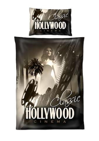 HOME FASHION Bettwäsche »Renforcé-Bettwäsche »Hollywood«« kaufen