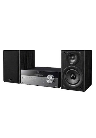 Micro - HiFi Anlage, Sony, »CMT - SBT100B Schwarz« kaufen