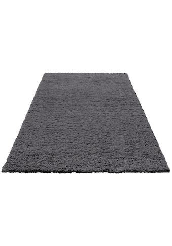 Hochflor - Teppich, »Viva«, Home affaire, rechteckig, Höhe 45 mm, maschinell gewebt kaufen
