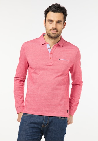 Pierre Cardin Poloshirt Longsleeve Bicolor kaufen