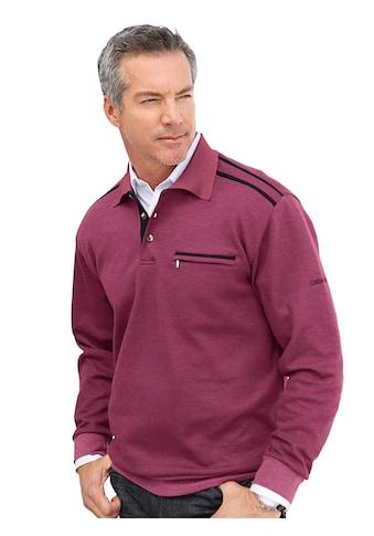 Catamaran Sweatshirt mit Knopfleiste kaufen