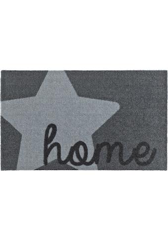 Fussmatte, »Star Home«, Zala Living, rechteckig, Höhe 7 mm, maschinell gewebt kaufen