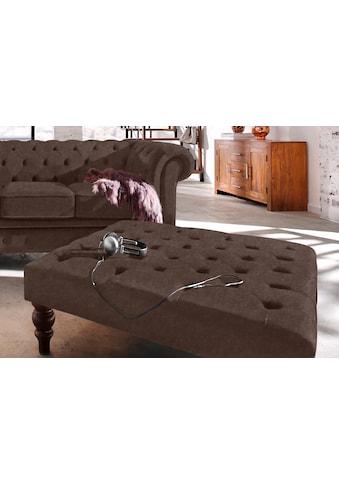Premium collection by Home affaire Hocker »Chesterfield« kaufen