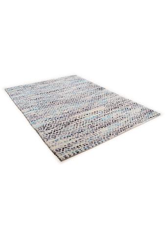 Wollteppich, »Diamond«, TOM TAILOR, rechteckig, Höhe 8 mm, manuell geknüpft kaufen