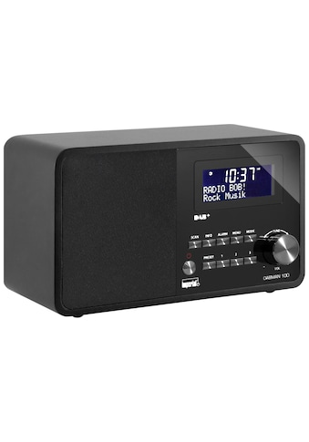 IMPERIAL Digitalradio (DAB+) »Dabman 100 Schwarz«, (CD Digitalradio (DAB+)-FM-Tuner ) kaufen