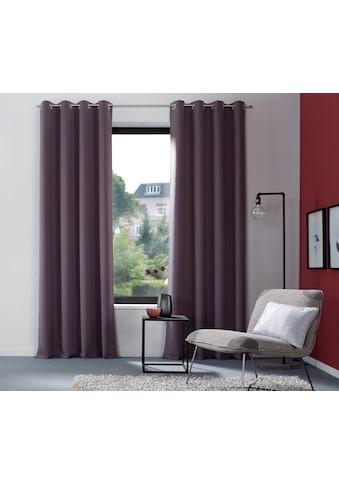 my home Verdunkelungsvorhang »Sola«, Breite 130 cm und 270 cm kaufen
