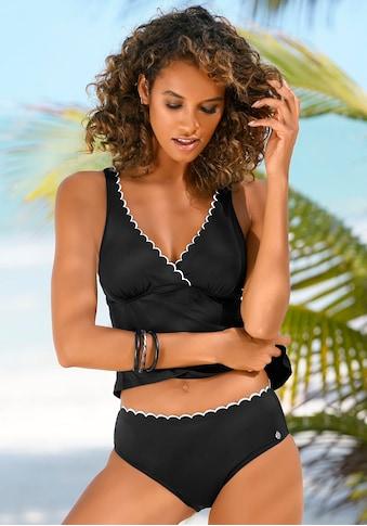 LASCANA Bügel-Tankini-Top »Camilla«, mit Farbkontrast kaufen