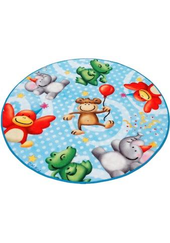 Kinderteppich, »Lovely Kids LK - 4«, Böing Carpet, rund, Höhe 2 mm, maschinell gewebt kaufen
