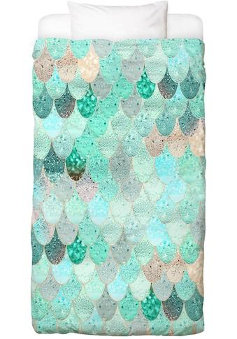 Juniqe Bettwäsche »Mermaid Summer«, In vielen weiteren Designs erhältlich kaufen