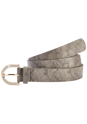 LASCANA Hüftgürtel, mit Snakeprint und modischer Zierschnalle kaufen