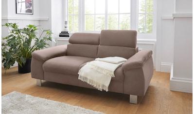 COTTA Polstergarnitur »Komaris«, (Set), Set: bestehend aus 2-Sitzer und Hocker, Sofa... kaufen