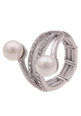 leslii Fingerring »Glitzerperle, 250118323« kaufen